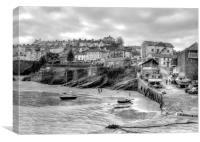 New Quay, Ceredigion, Canvas Print