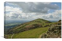 Worcestersihre Beacon Malvern Hills, Canvas Print