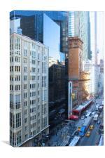 NYC Street, Canvas Print
