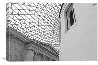 British Museum, London, Canvas Print
