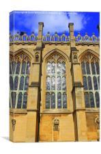 St Georges Chapel, Windsor Castle, Canvas Print