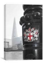 City of London Crest, Canvas Print