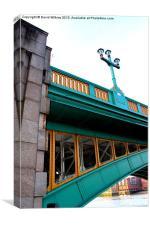 The Colours of Southwark Bridge, Canvas Print