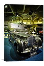 Classic Bentley, Canvas Print