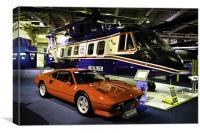 Ferrari at Bonham's Auction, Canvas Print
