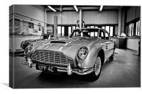 Aston Martin, Canvas Print