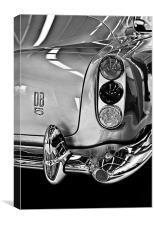 Aston Martin DB5, Canvas Print