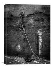 River Thames Wall, Canvas Print