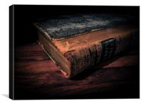 The Old Book, Canvas Print