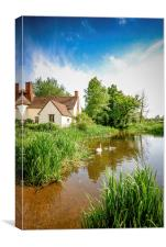 Willy Lott's Cottage, Canvas Print