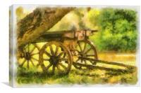 Pastoral idyll, Canvas Print