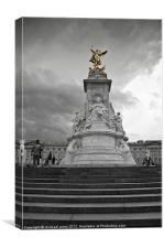 Vic's golden crown, Canvas Print