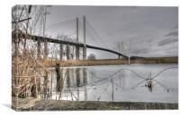 Bridging over, Canvas Print