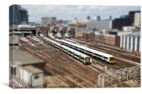 Toy-Trains, Canvas Print