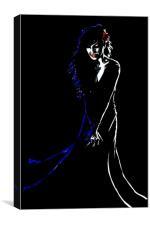Noir, Canvas Print