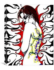 Tattoo, Canvas Print