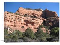 Enchantment Resort, Sedona, Arizona, Canvas Print