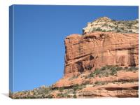 Sedona, Arizona canyon, Canvas Print
