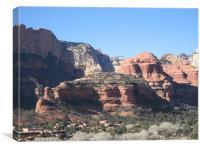 Boynton Canyon, Sedona, Arizona, Canvas Print