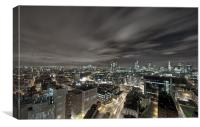 City Nights, Canvas Print