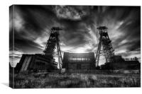 Taking Headstocks, Canvas Print