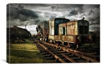 Choo Choooooo, Canvas Print
