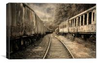 End of the Line., Canvas Print