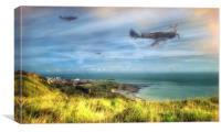 Coastal Patrol, Canvas Print