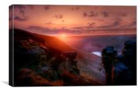 Saddleworth Moor Peak District #2, Canvas Print