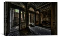 Mansion le ghoul, Canvas Print