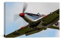 Hawker Hurricane AG244 , Canvas Print