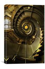 The Charles Macintosh Lighthouse, Scotland, Canvas Print