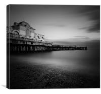 :Southsea pier:, Canvas Print
