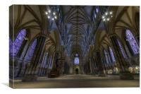 :Lincoln cathedral:, Canvas Print