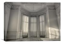 :Bay window:, Canvas Print