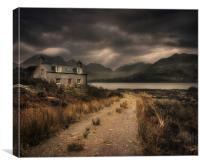 Hunters Lodge, Canvas Print
