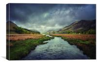 River to Buttermere, Canvas Print
