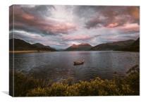 Loch Leven, Canvas Print