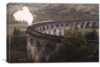 Glenfinnan Viaduct.                    , Canvas Print