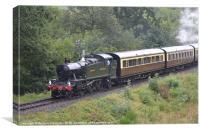 51XX Class GWR No.5164, Canvas Print