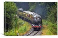 Severn Valley Railway Class 51XX GWR, Canvas Print