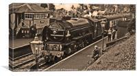 A1 Peppercorn Class No 60163 Tornado, Canvas Print