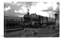 Southern Built 8F No 48624, Canvas Print