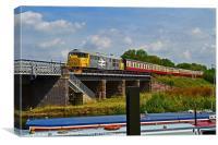 Nene Valley Railway Diesel Class 31 No 31108, Canvas Print