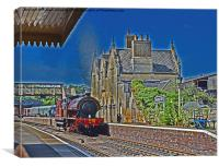 Wansford Station Nene Valley Railway, Canvas Print