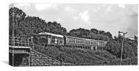 NVR Diesel Class 31 No 31108, Canvas Print