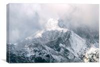 Mount Snowdon, Canvas Print