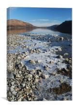 Ullswater on a cold winter's morning, Canvas Print