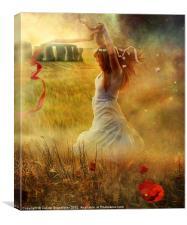 Midsummer's Dance, Canvas Print