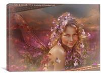 The Purple Spring, Canvas Print